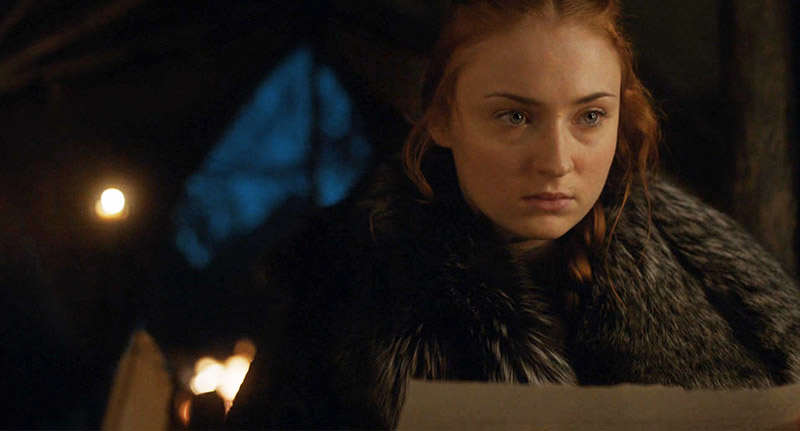 Game Of Thrones Fans May Have Just Figured Out What Sansas Letter Said sansa fb