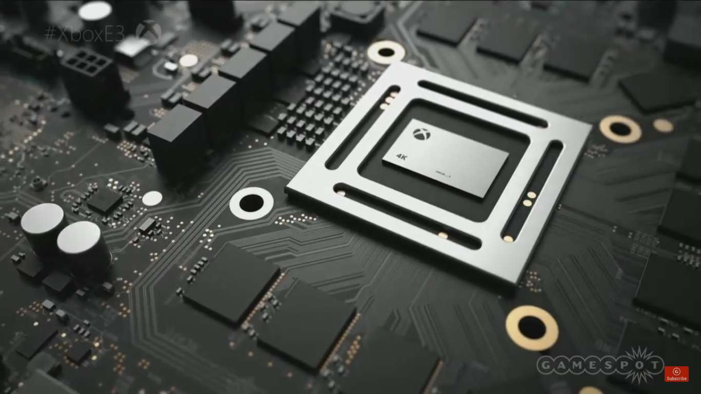 Microsoft Officially Announce 4K Ready Project Scorpio scorps