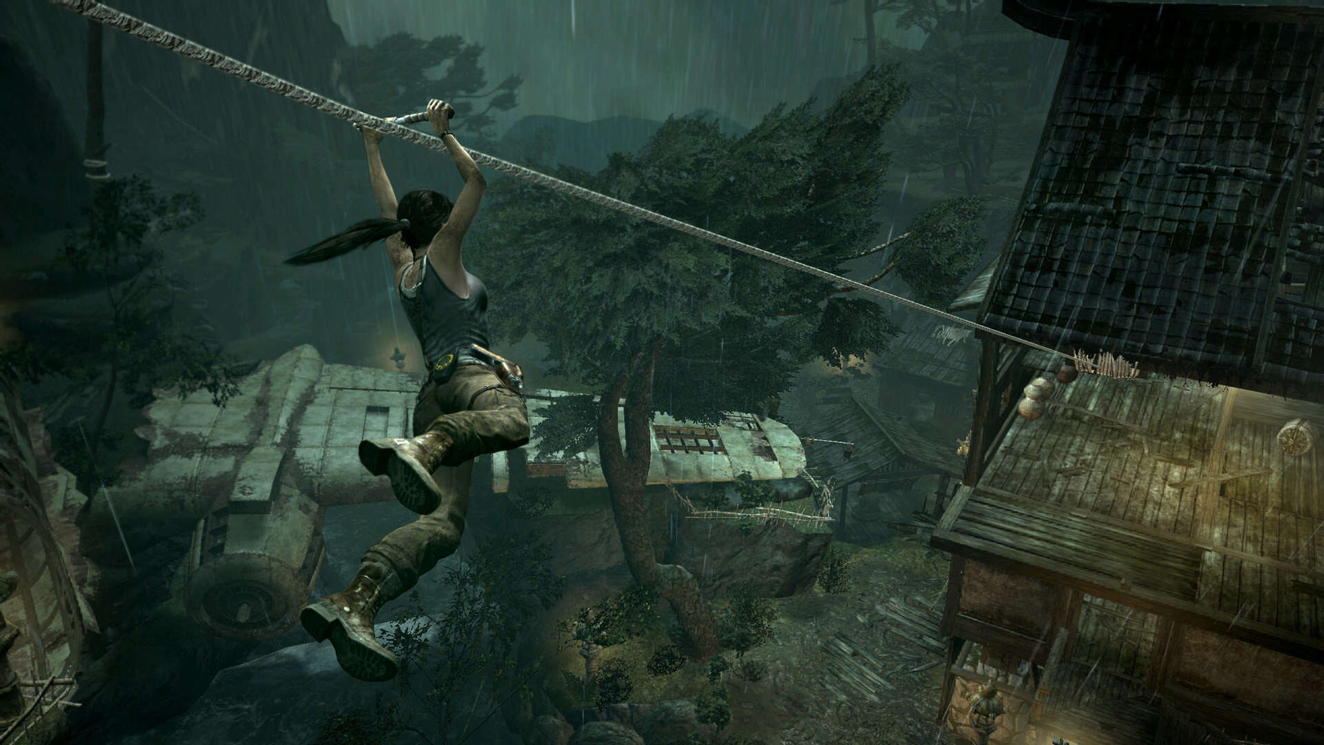 Tomb Raider Actress Alicia Vikander Speaks Out About Her New Role tomb raider 2013 screen 11
