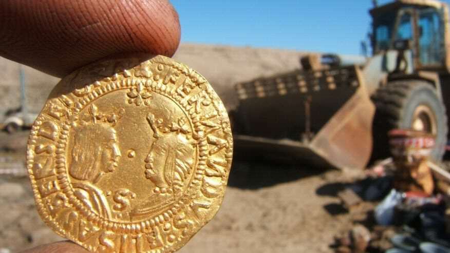 500 Year Old Shipwreck Containing Huge Fortune Found In Desert wreck4