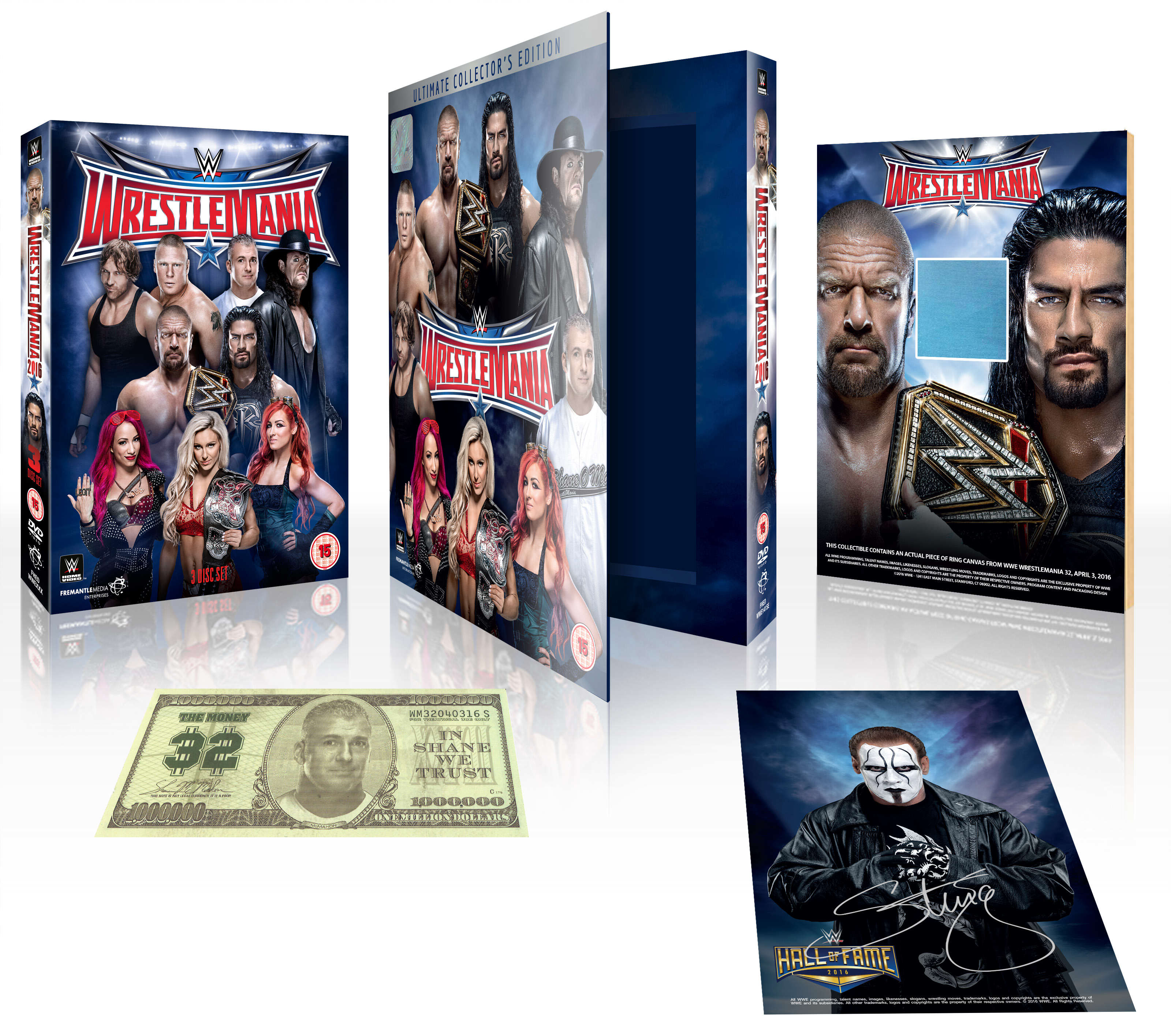 WrestleMania 32 Collectors Edition: The Extras Are Better Than The Show Itself wrestlemania 2