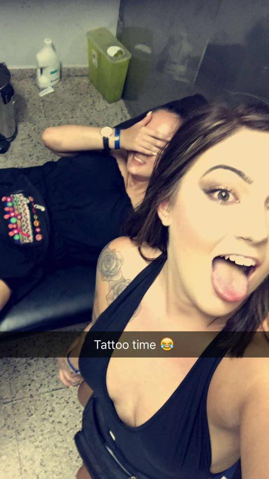 Girl Gets P*ssed In Ayia Napa, Gets F*cking Ridiculous Hip Tattoo 13631435 10207223283646405 8707193636706238199 n