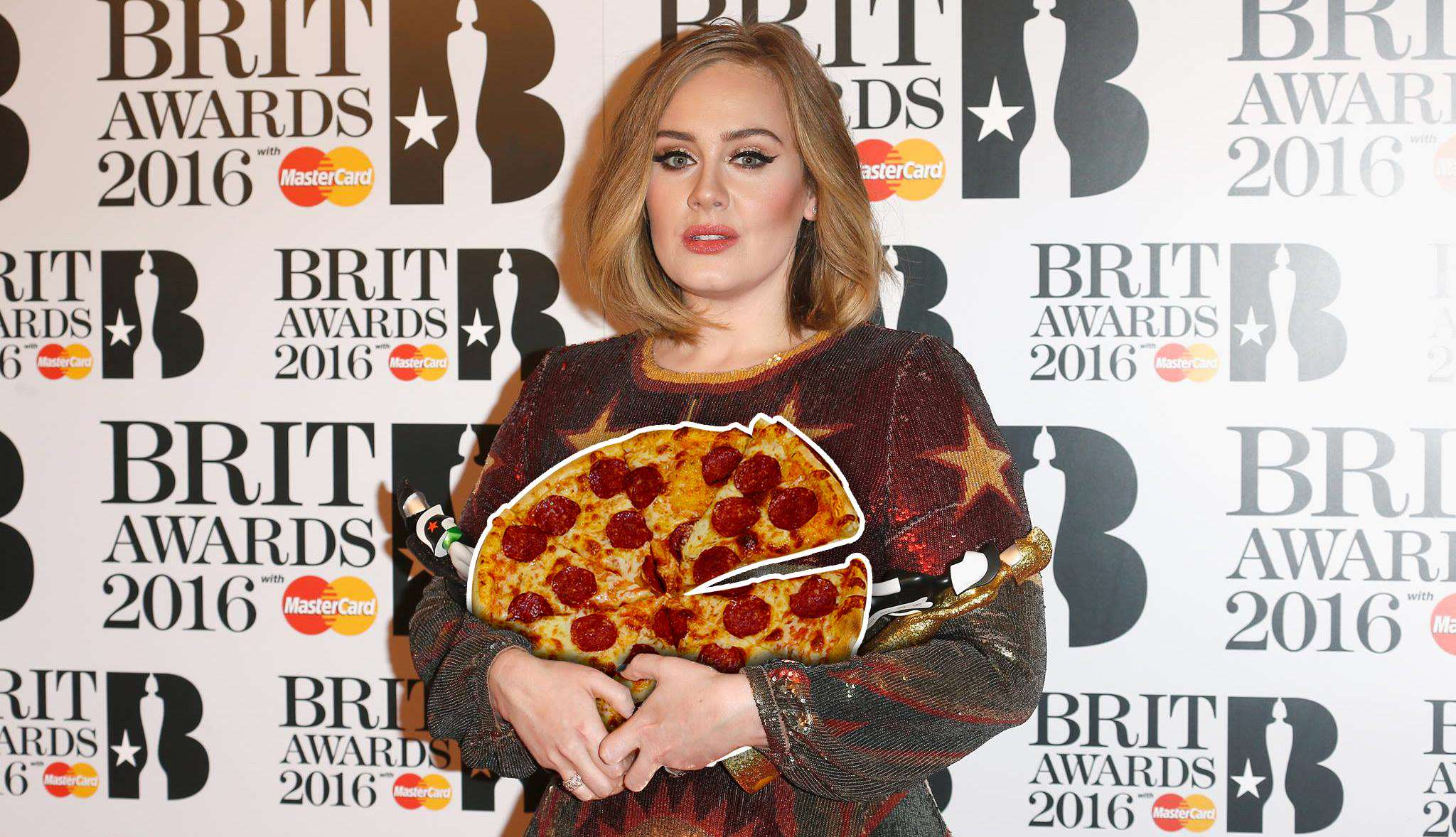 Adele Insists Hotel Staff Drive 140 Miles For Pizza, Doesnt Eat It 13639599 10157245652520604 408638861 o