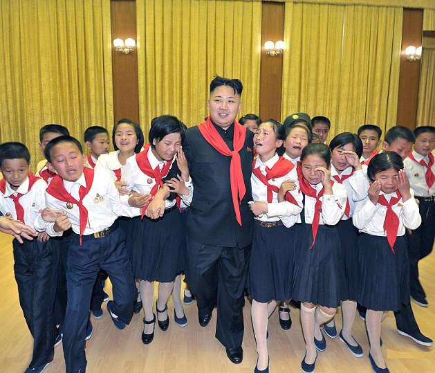 These Are The Ridiculous Facts North Korean Kids Learn About Kim Jong il 1412063549973 wps 3 A photo released by North
