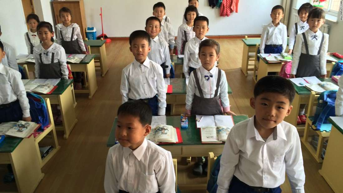 These Are The Ridiculous Facts North Korean Kids Learn About Kim Jong il 150507130323 ripley north korea school 2 super 169