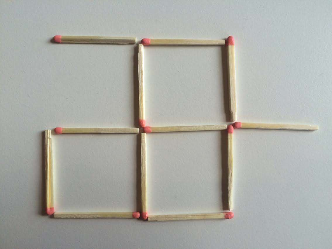 This Toothpick Puzzle Is Confusing The Sh*t Out Of The Internet 2