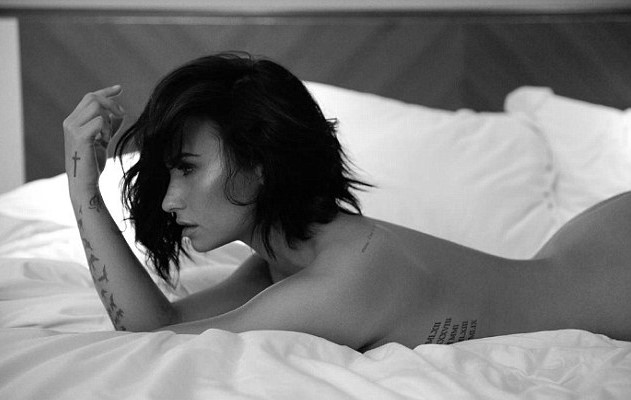 Demi Lovato Releases Nude Photoshoot For New Track Launch 35D7BD7D00000578 3669291 image m 21 1467347810024 1