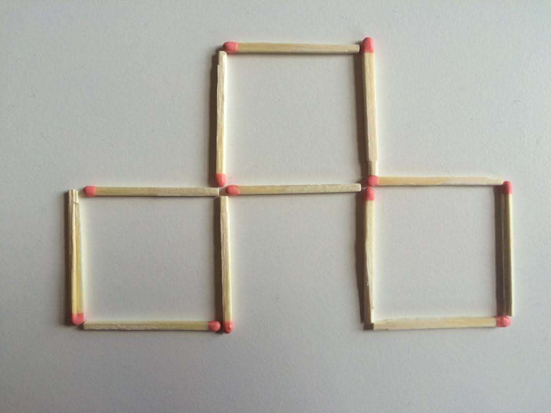 This Toothpick Puzzle Is Confusing The Sh*t Out Of The Internet 4