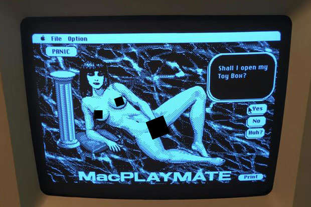 Guy Finds Very NSFW Surprise While Fixing 80s Computer 574344