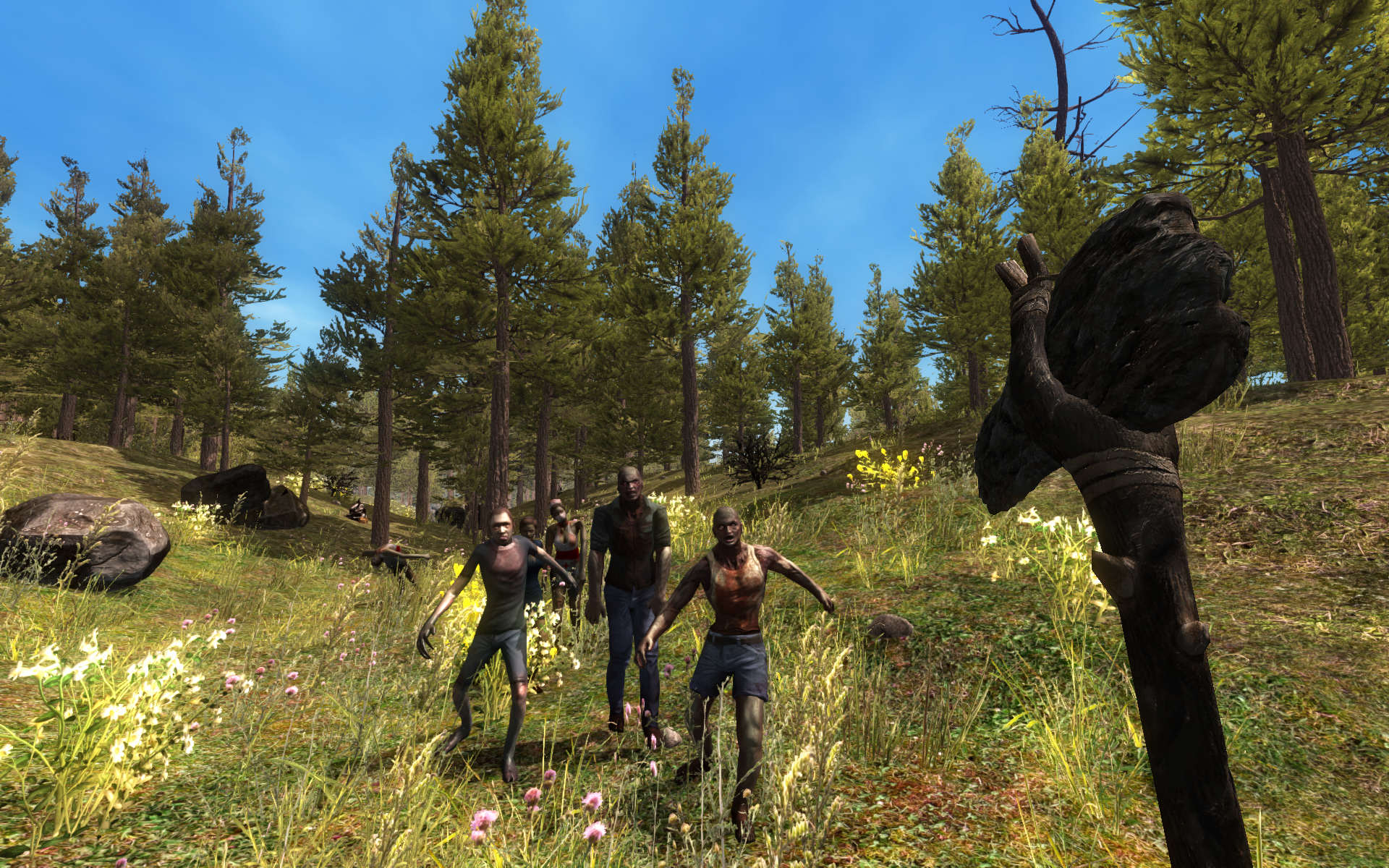 In 7 Days To Die Boredom Is The Only Thing That Kills 7D2D Alpha 8 Pine Forest