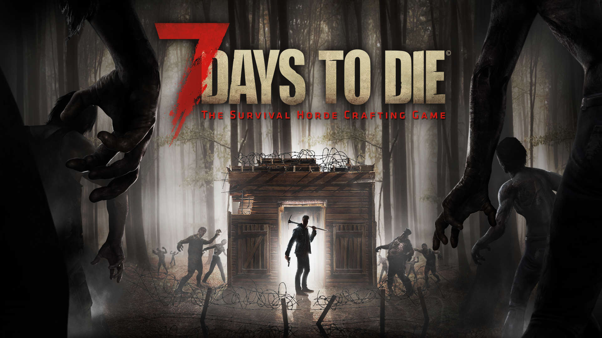 In 7 Days To Die Boredom Is The Only Thing That Kills 7D2D KeyArt