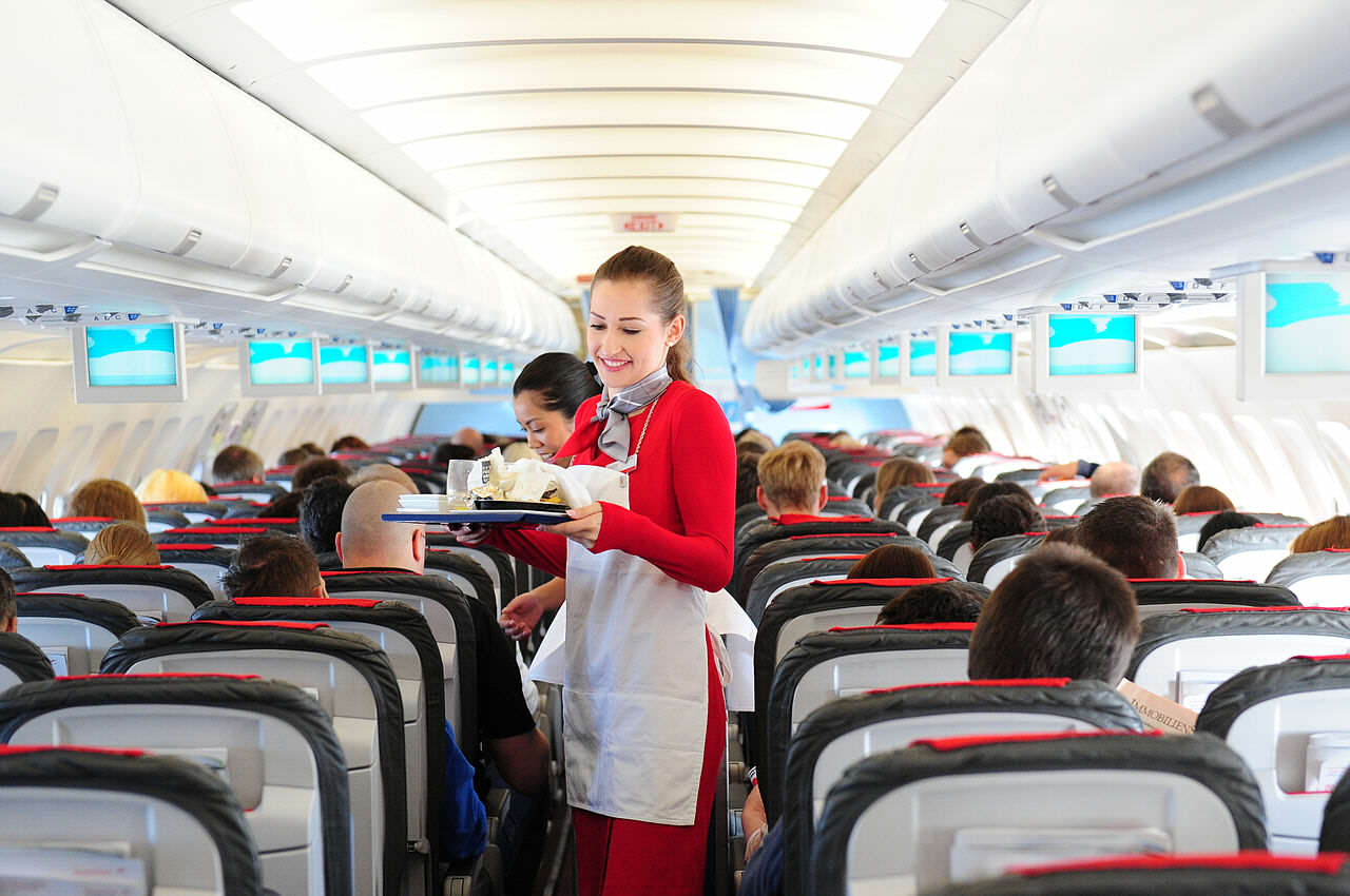 This Is How To Fly First Class For Free On Your Next Flight Cabin crew service 2 14356554172