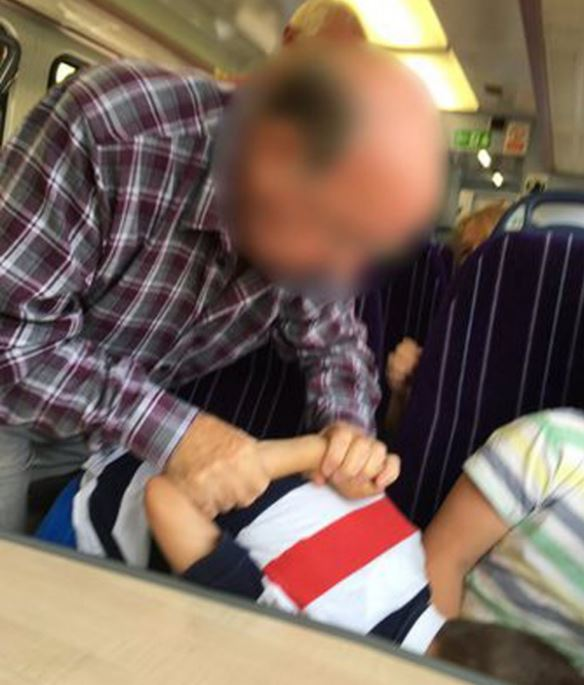 Outrage As Pensioner Puts Child In Armlock For Being Cocky Capture 12
