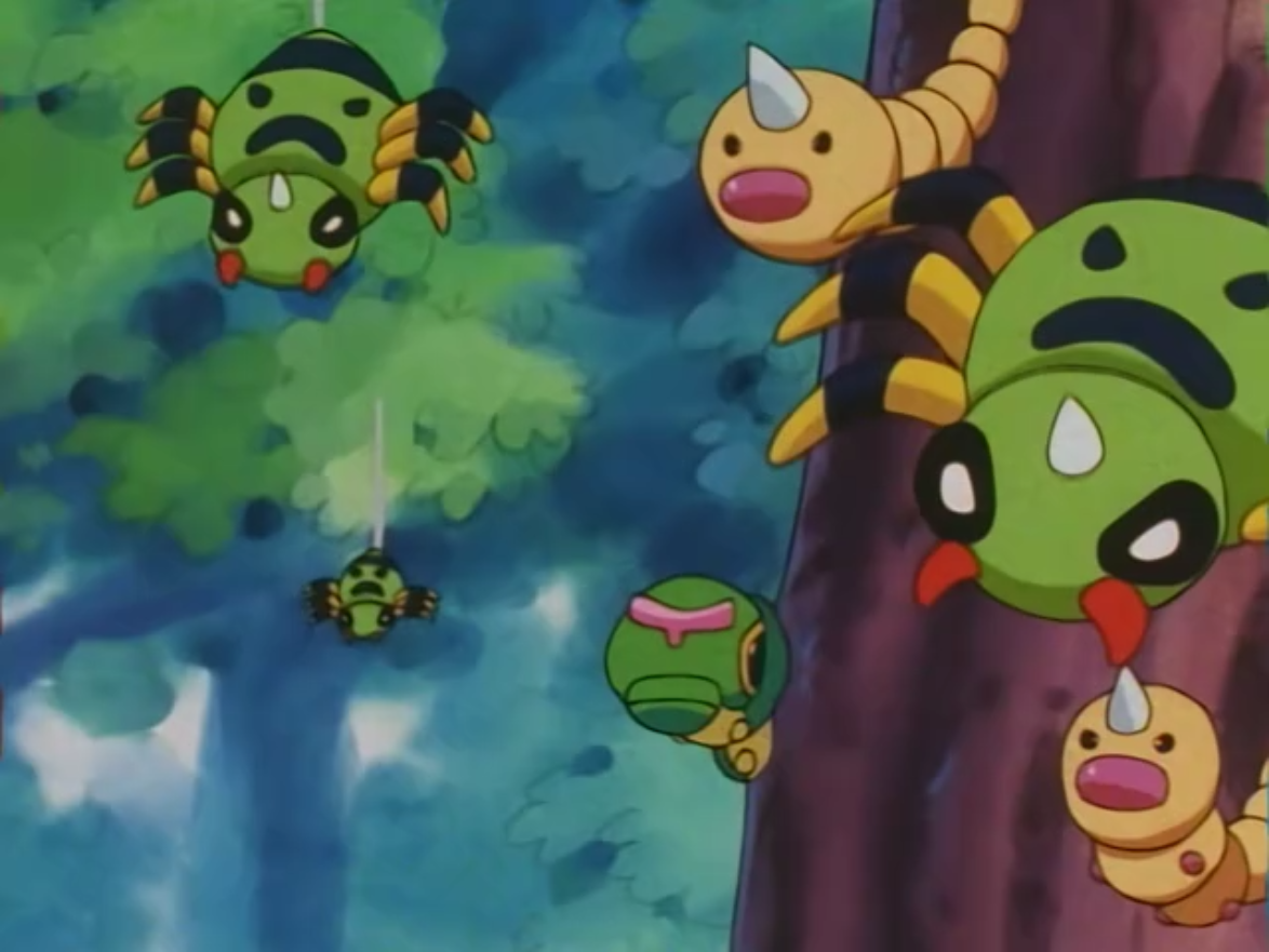 Caterpie_Weedle_Spinarak_JE111