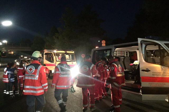 Multiple People Hurt In Train Attack In Germany