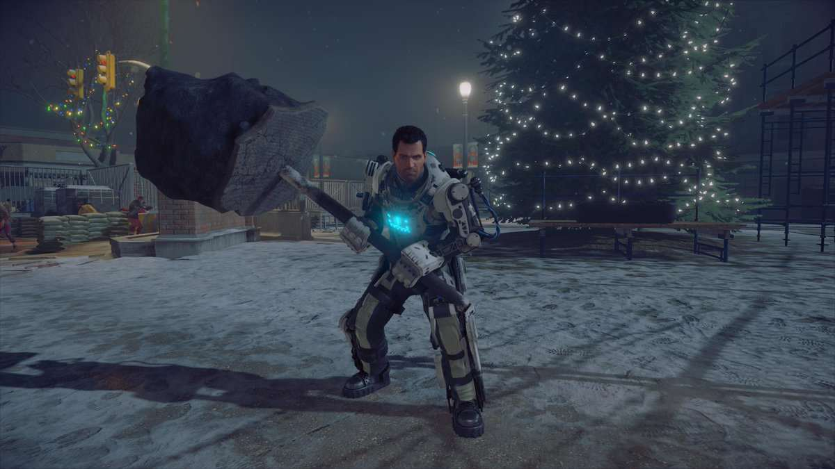 Dead-Rising-4-christmas-tree-mech-suit