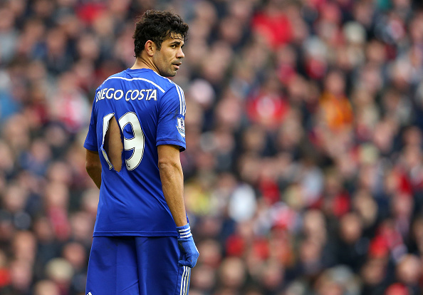 Diego Costa Getty shirt rip