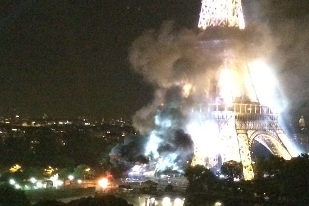 ISIS Show Theyll Claim Responsibility For Anything After Latest Propaganda Video Eiffel Tower fire
