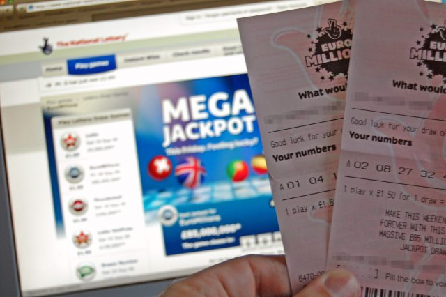 Man Who Won £14 Million On Lottery Makes Surprising Decision EuroMillions tickets 640x426
