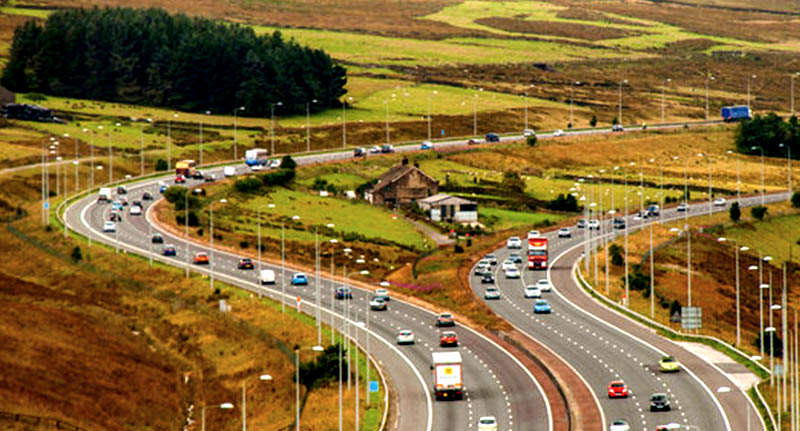 Woman Reveals What Growing Up In House In Middle Of M62 Was Like FaceThumb motorway