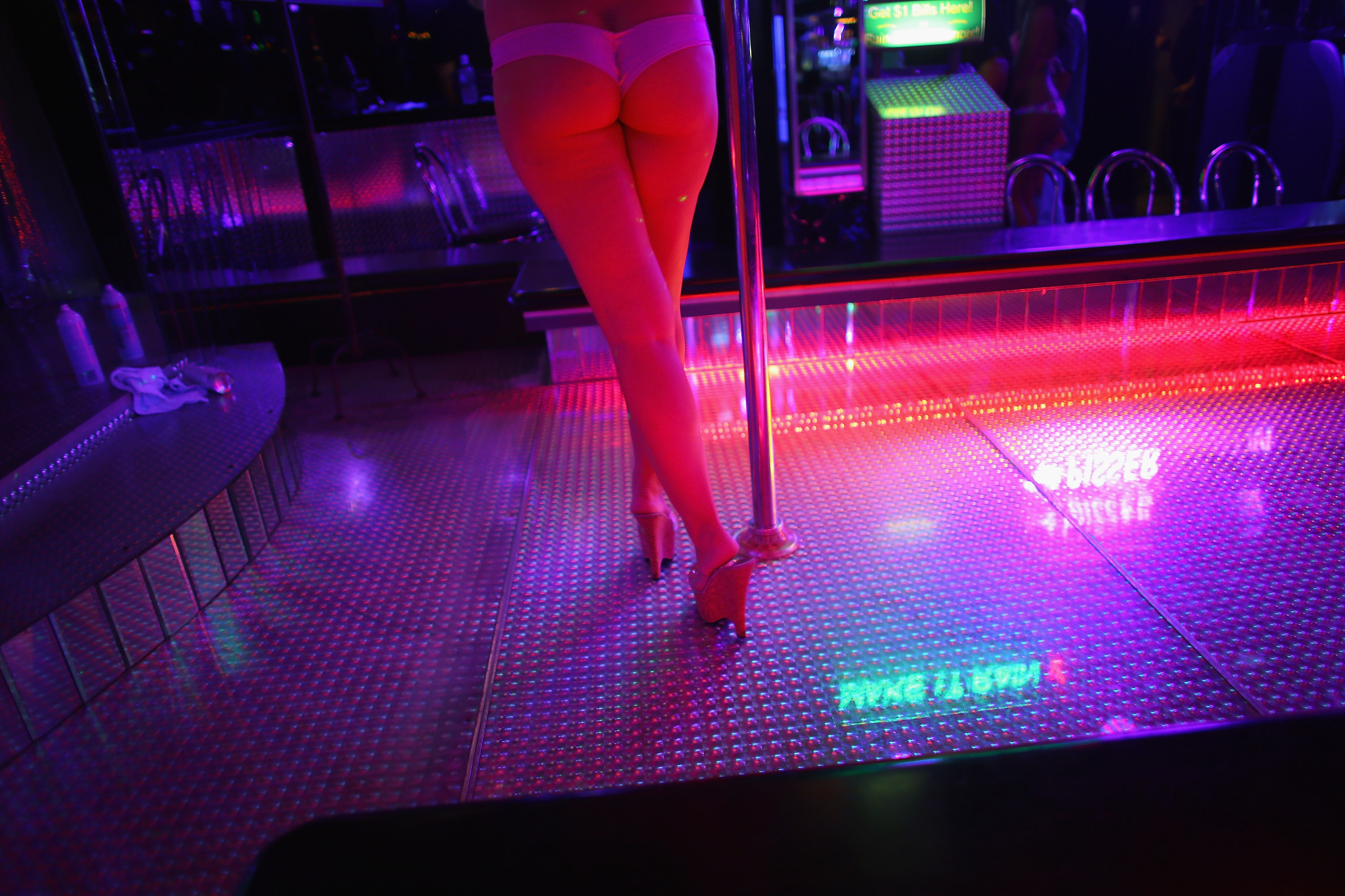 Stripper Reveals The Tricks She Used To Get Men To Blow Their Cash GettyImages 150743836