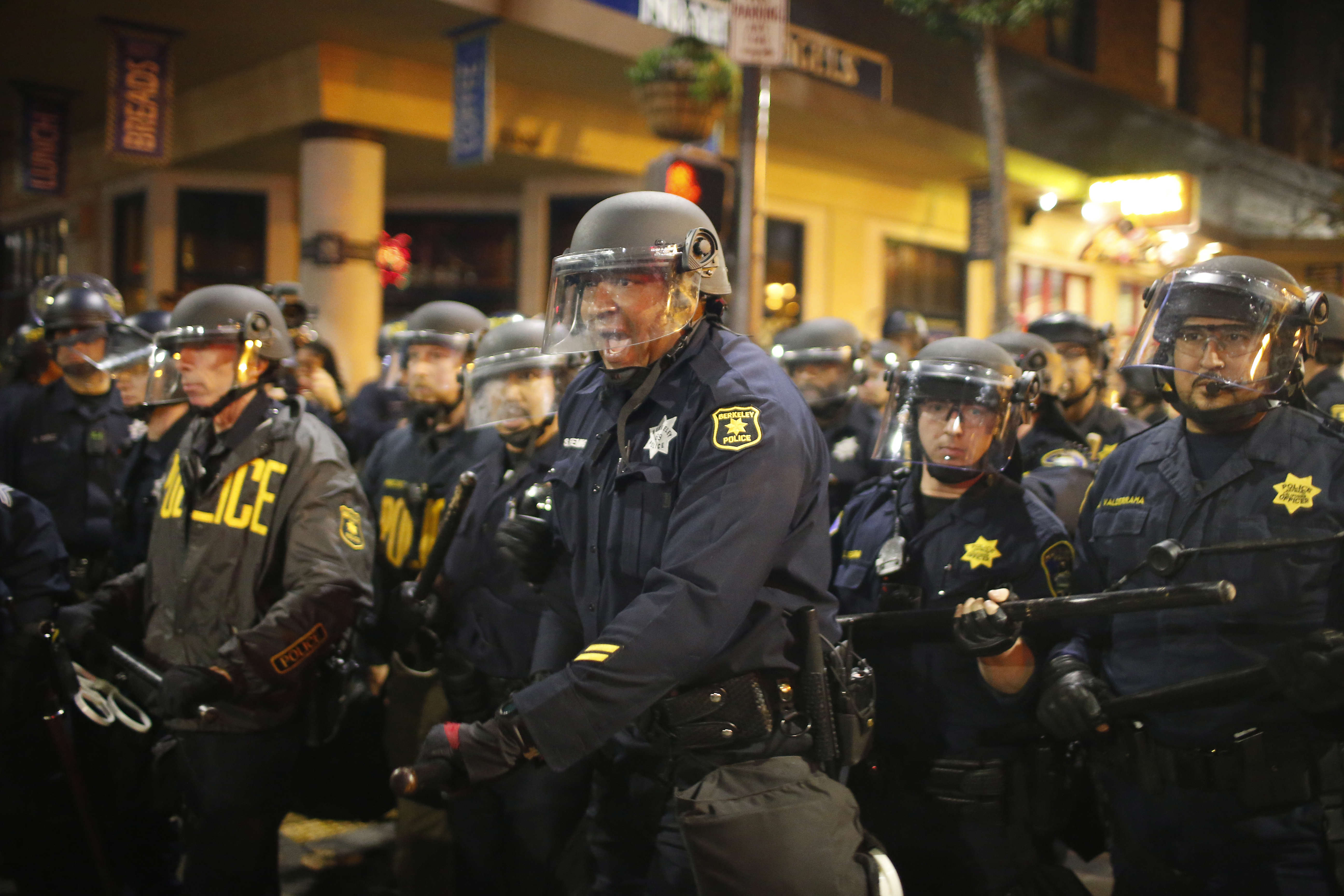 Demonstrations Over Recent Grand Jury Decisions In Police-Involved Deaths Continue