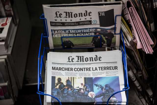 French Media To Stop Publishing Terrorists Names And Photos GettyImages 461270504 640x426