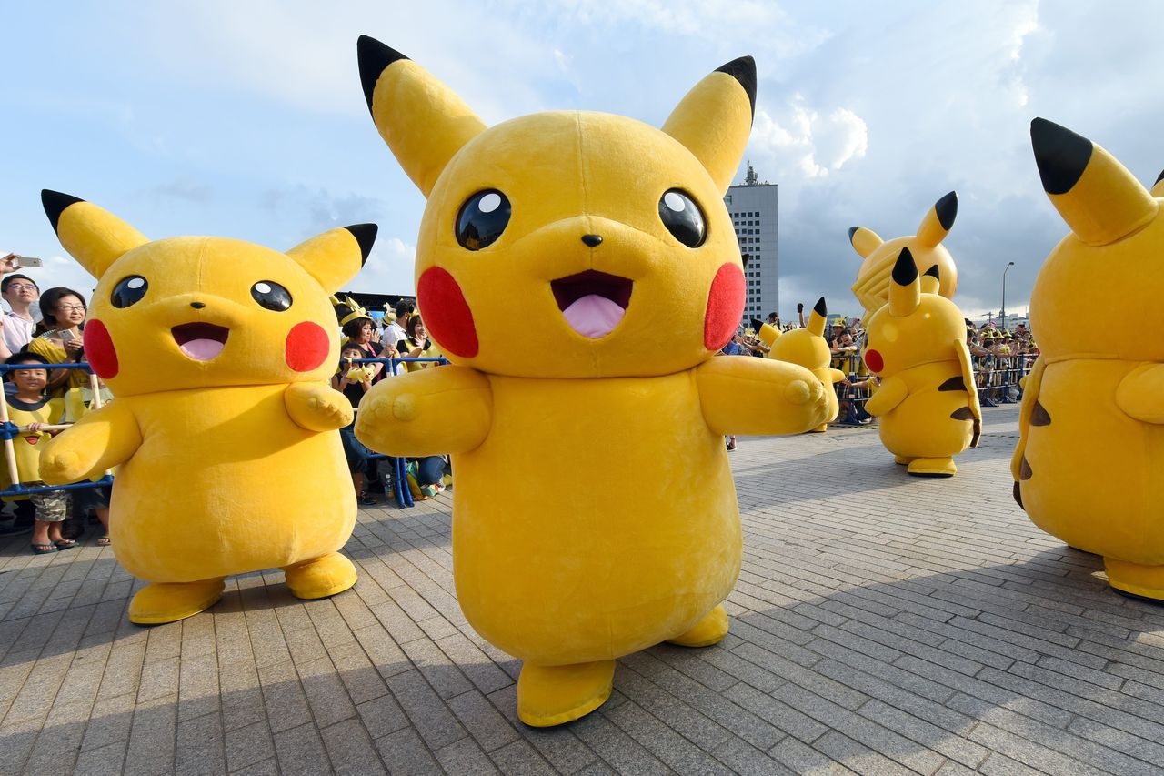 Pokemon GO Dominates Mobile Gaming Purchases GettyImages 484210462.0