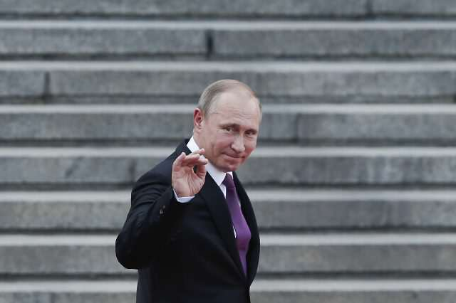 Is The Russian Government Trying To Make Donald Trump President? GettyImages 542917680 640x426