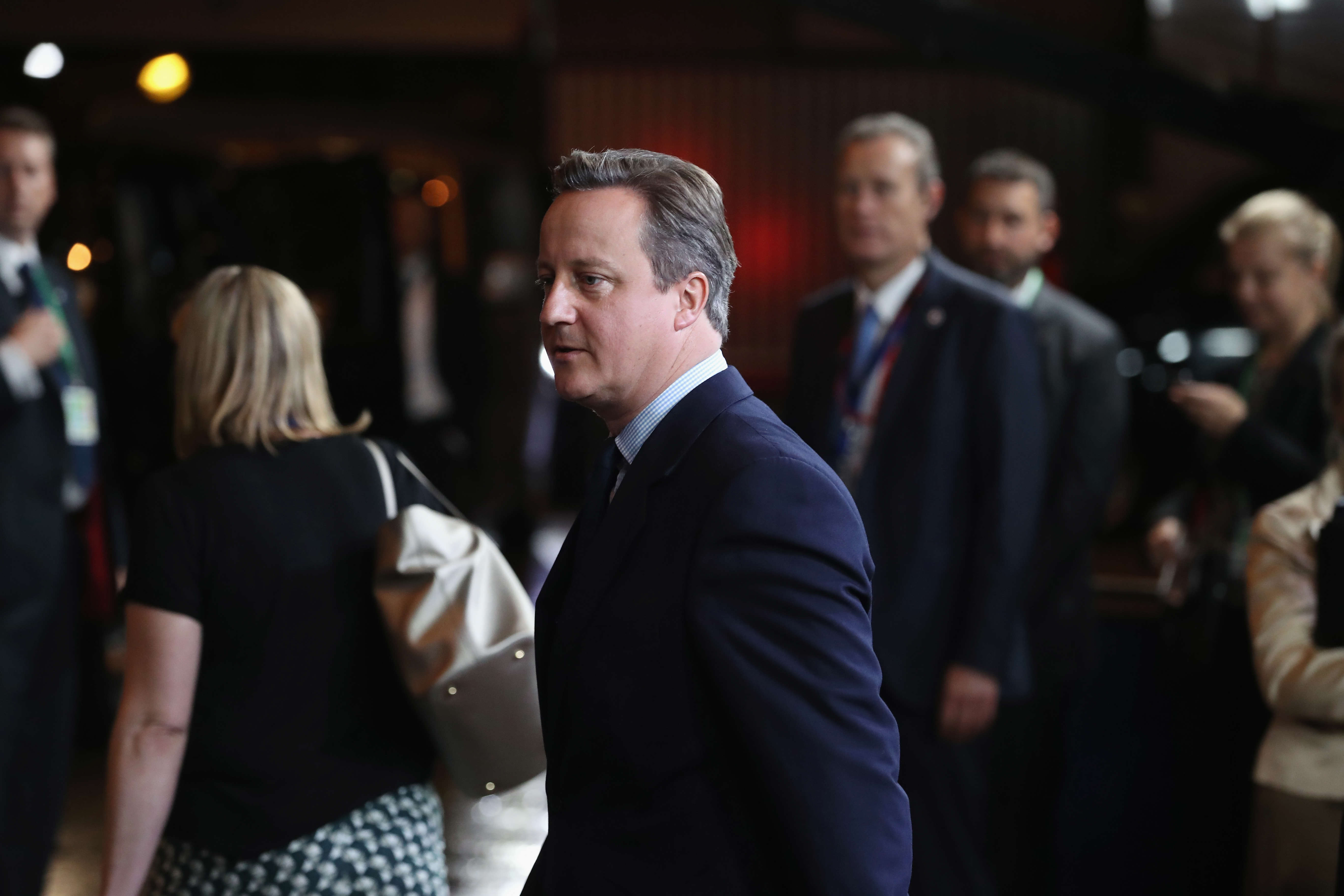 British Prime Minister Attends European Council Meeting Following The UK's Decision To Leave The EU