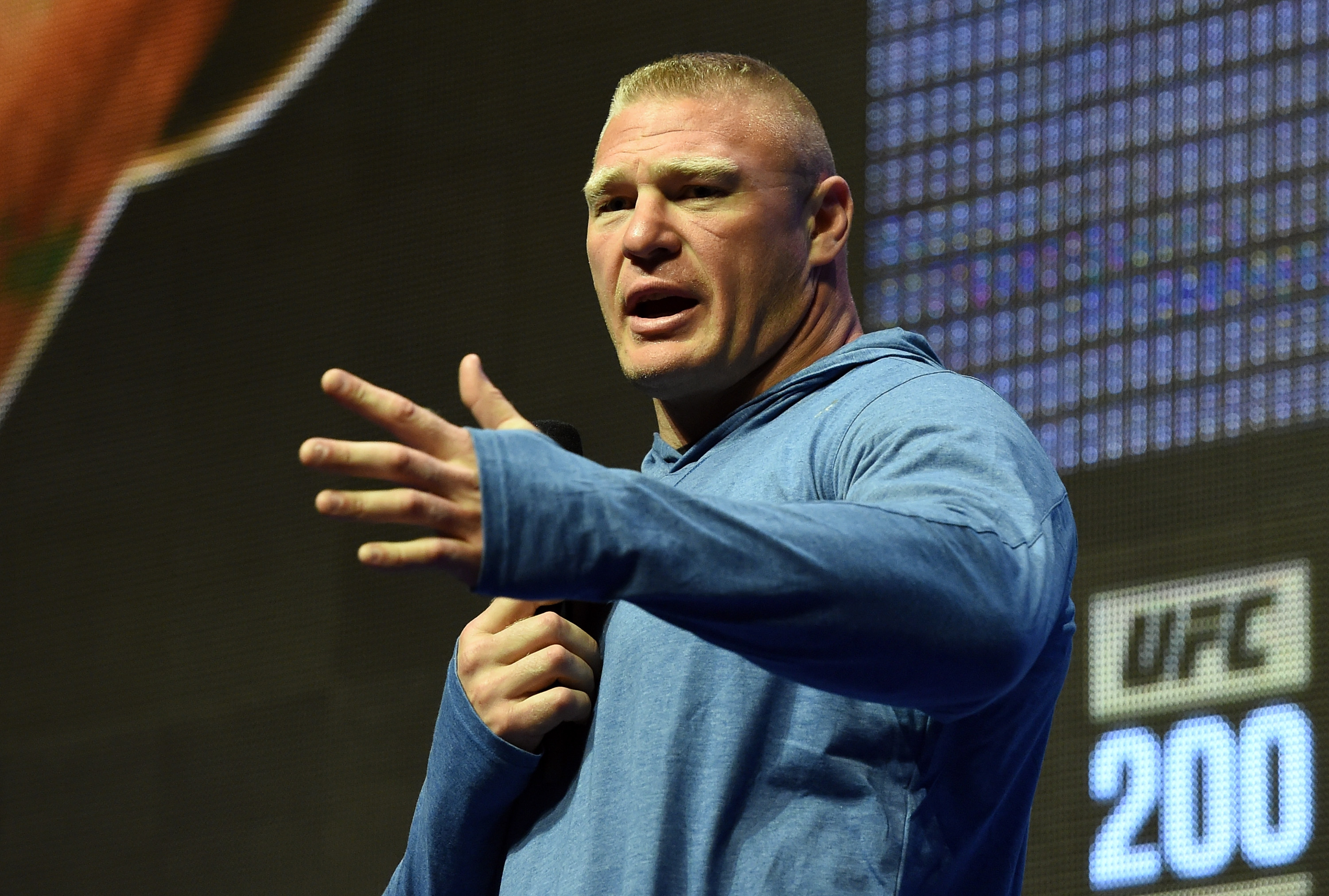 Brock Lesnar Investigated After Potential Anti Doping Violation Before UFC 200 GettyImages 545332144