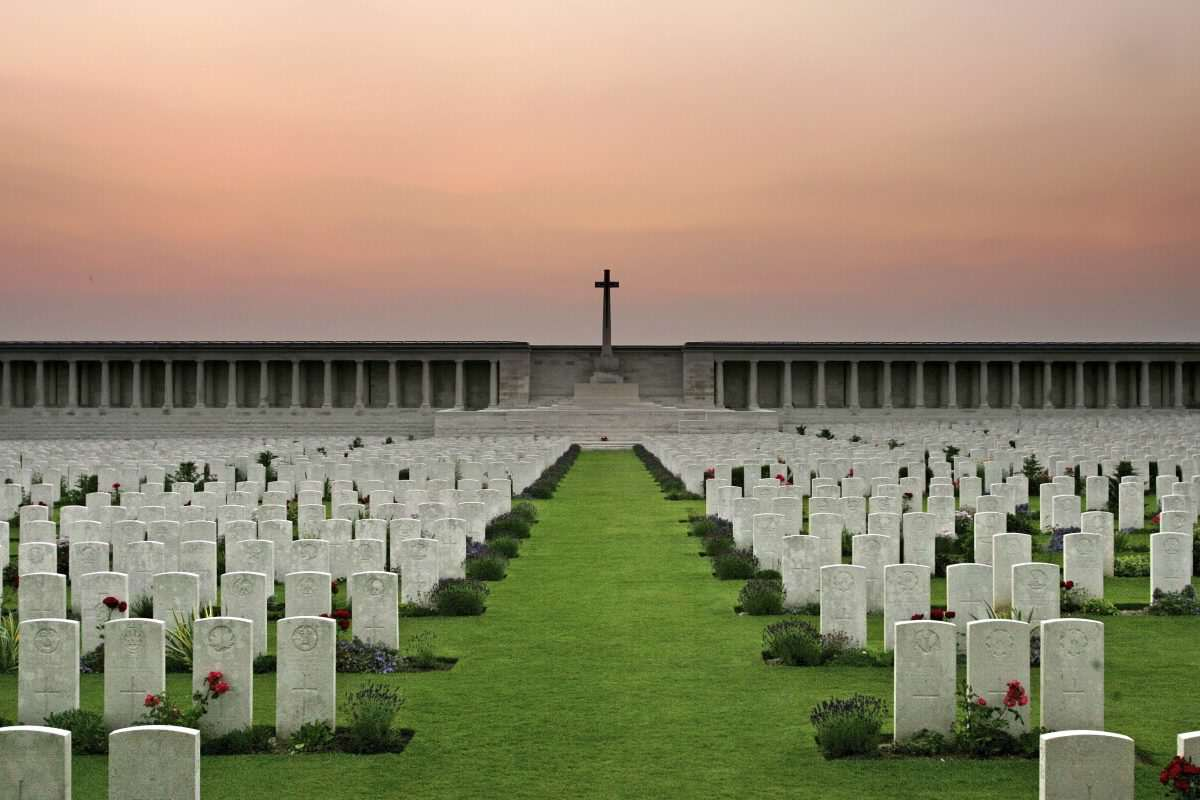 Preparations For The 90th Anniversary Of The Battle Of The Somme