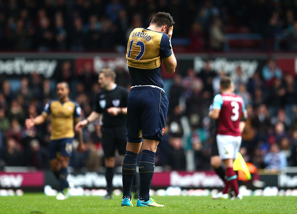Arsenal Abandon Higuain Hopes With French Forward Their Top Priority Giroud sad getty