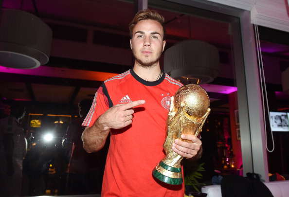 Liverpool End Gotze Chase But Premier League Move Still Likely Gotze with World Cup Getty