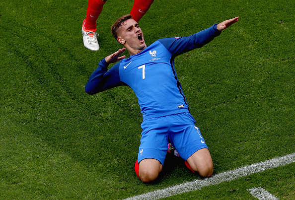 Arsenal Making Serious Move To Land Star Of Euros Griezmann slide celeb getty 1