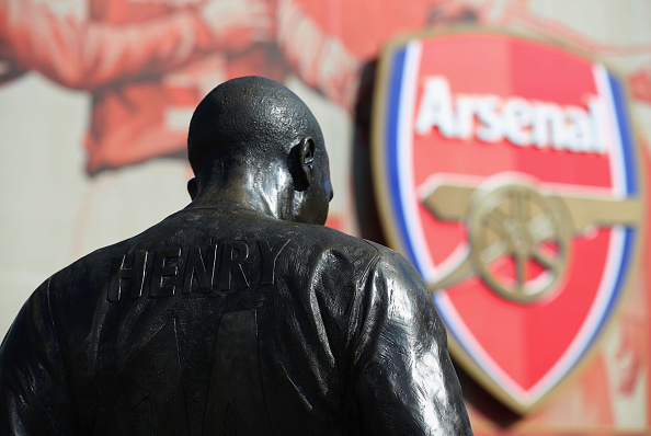 Sky Defend Henry After Wenger Row With Saltiest Ever Statement Henry Statue Getty