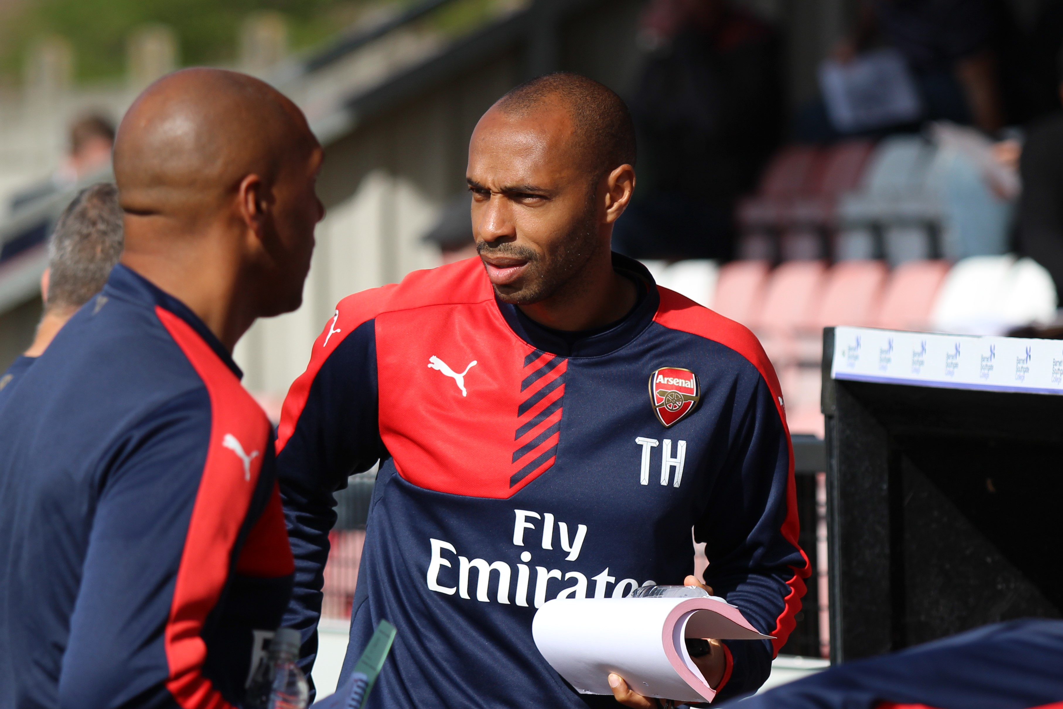 Sky Defend Henry After Wenger Row With Saltiest Ever Statement Henry coaching wikimedia