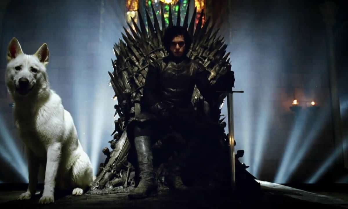 This Epic Jon Snow Mash Up Will Fill The Game Of Thrones Shaped Void In Your Life Iron Throne jon snow 21714890 1280 720 1200x720