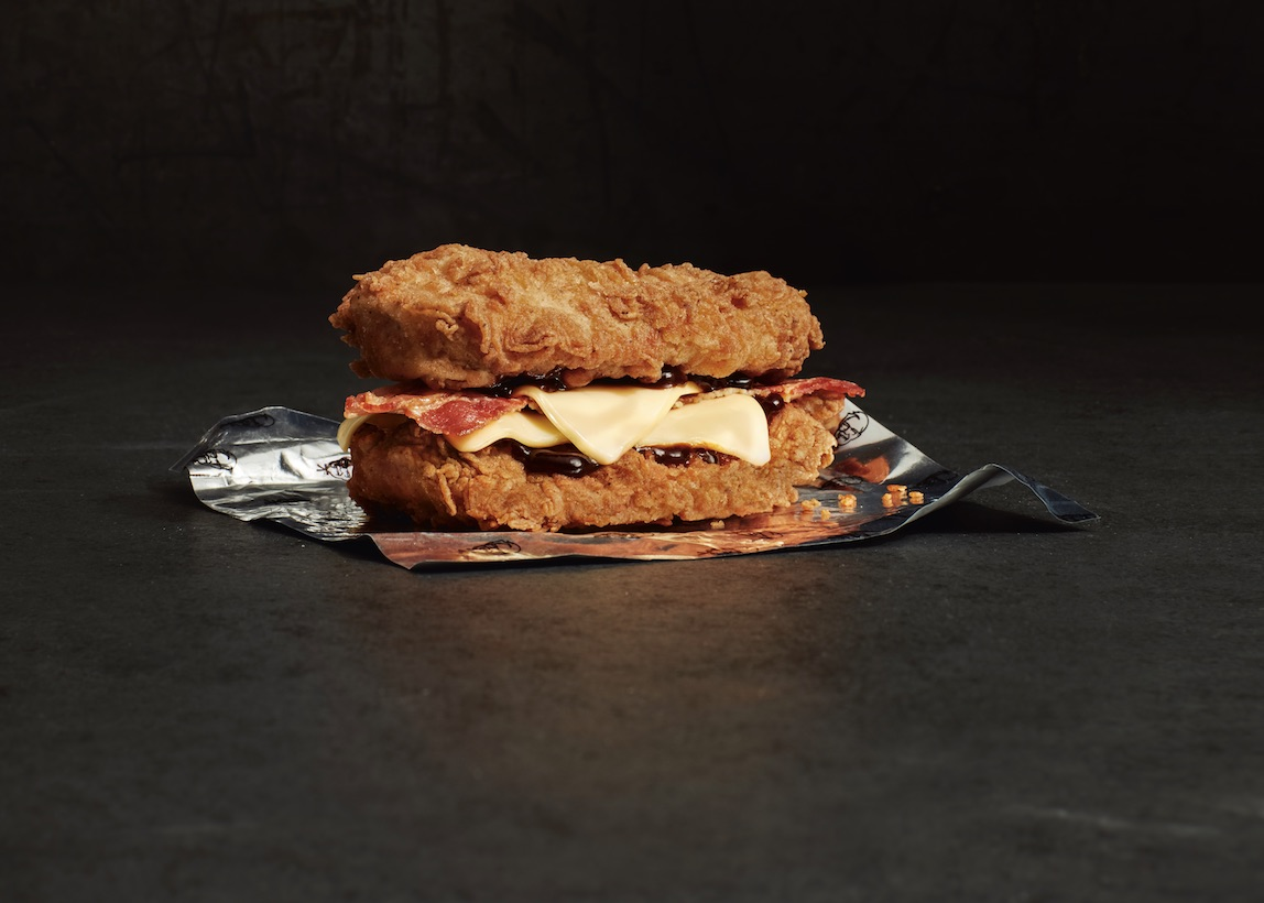 KFC Double Down burger