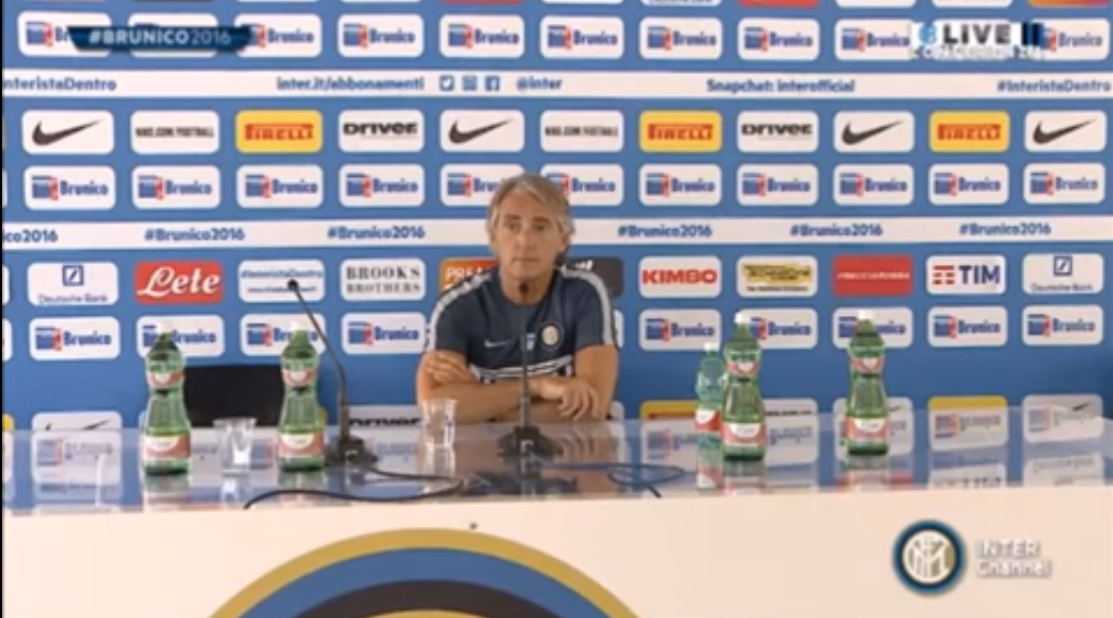 Mancini Avoids Icardi Transfer Talk With Very NSFW Comment Mancini Press Conference