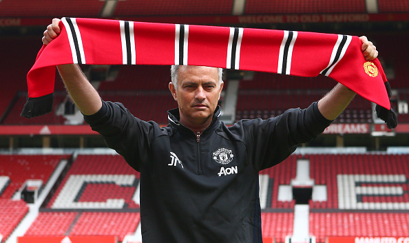 Mourinho Risks Wrath Of Chelsea Fans With Move For Key Man Mourinho Getty Scarf