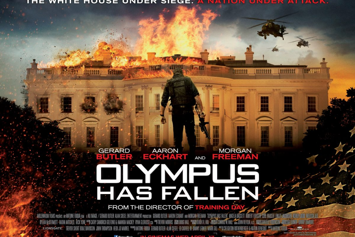 These Movies Are Basically Just U.S. Military Propaganda Olympus Has Fallen Quad Poster UK 1200x800