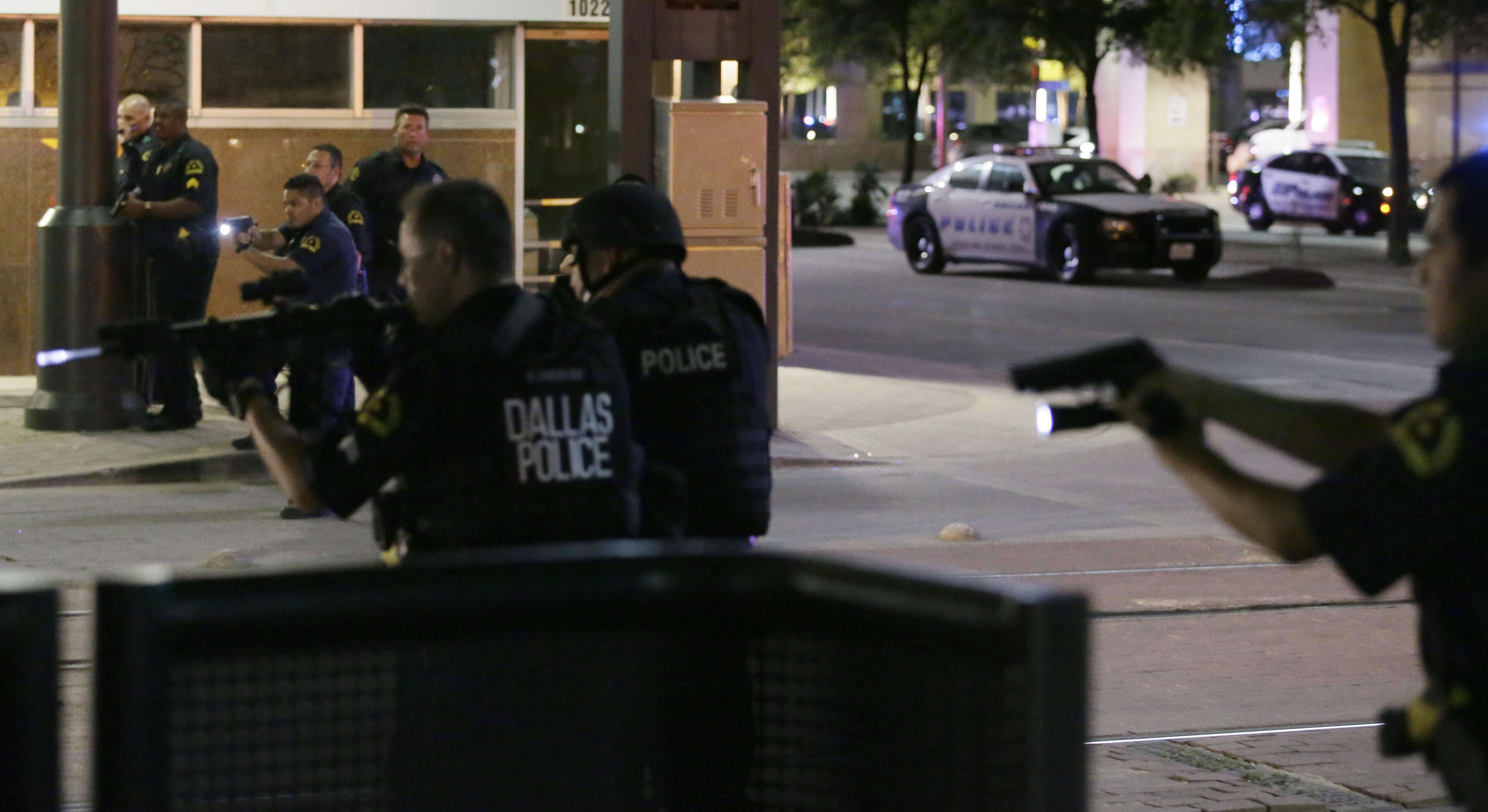 Police Shootings Protests Dallas