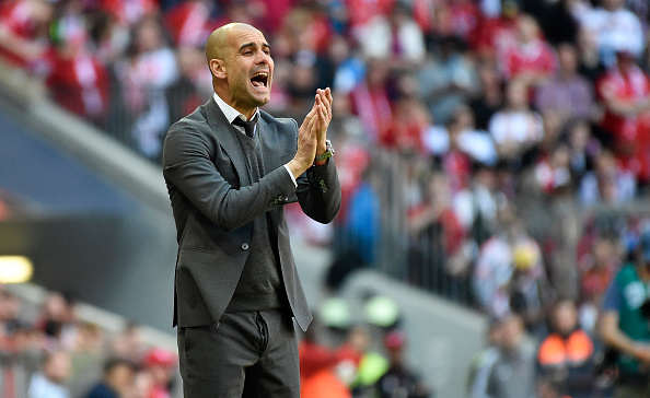 Guardiola Era Begins As Manchester City Legend Agrees Move Away Pep Getty