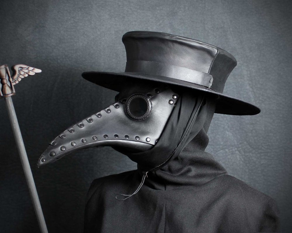 Plague_doctor_hat_by_tombanwell-d6bzaad