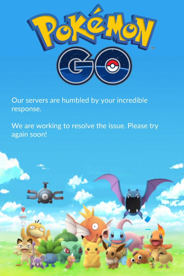 These People Are Claiming Responsibility For Taking Down Pokemon GO Pokemon Go servers are down 1