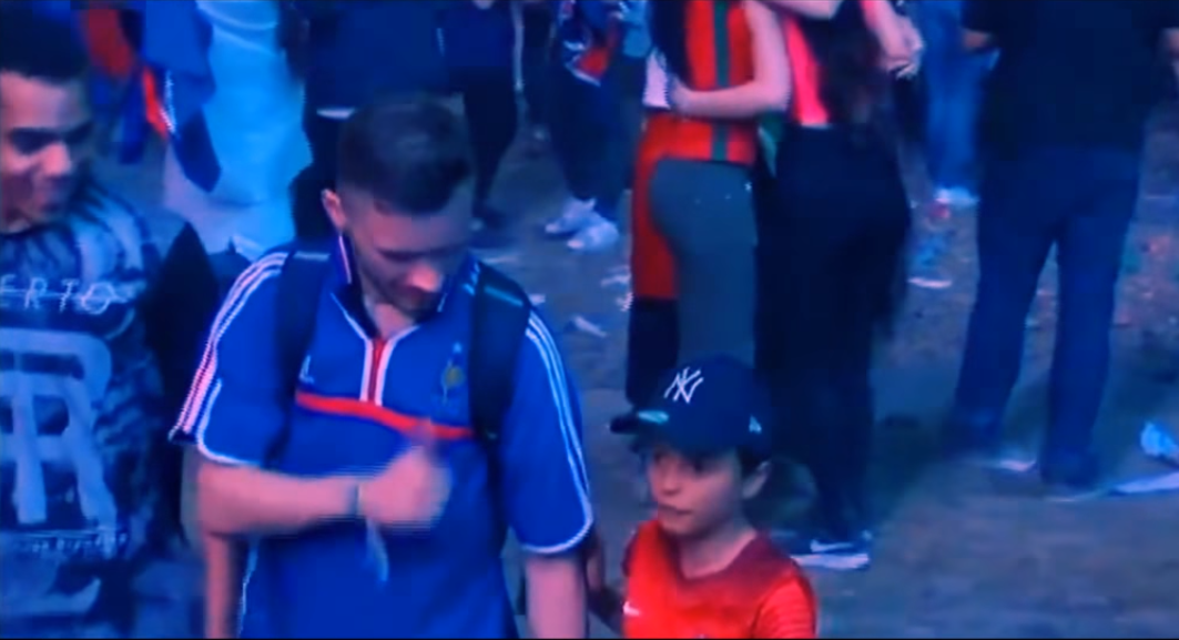 Young Portugal Fan Wins Everyones Heart After Best Act Of Euros Portugal French Fan