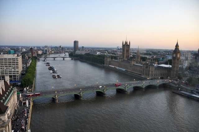 Watch Moment Model Abandons Photoshoot To Rescue Drowning Girl River Thames and Westminster Bridge London 17Aug2009 640x426