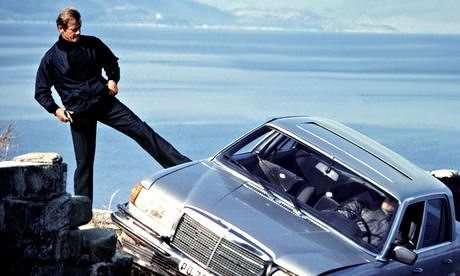 James Bond Is Actually Just A Psychopath, And Heres Why Roger Moore pushing a bad 007