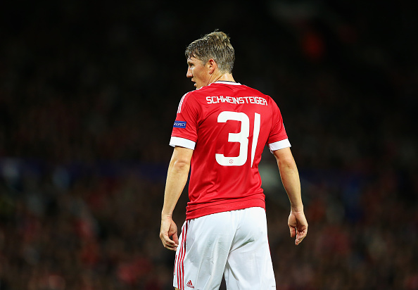 Man United Face Paying Out Millions To Get Rid Of Midfielder Schweinsteiger Man U Getty